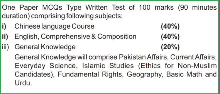 PPSC Syllabus For Interpreter of Special Protection Unit (SPU) Advertisement 35/2020